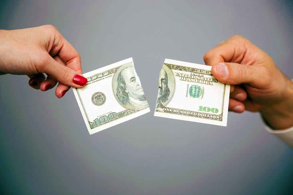 Dividing assets